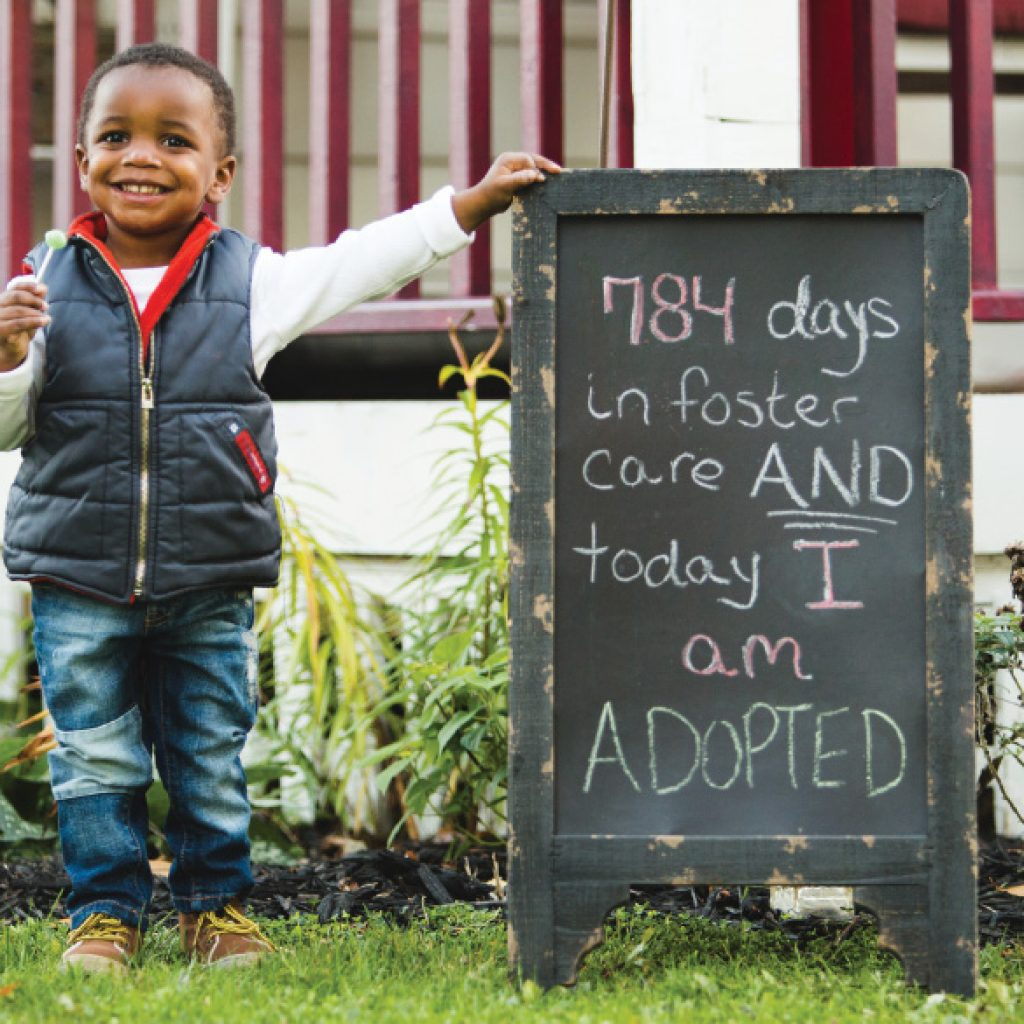 Foster Care Adopted Child